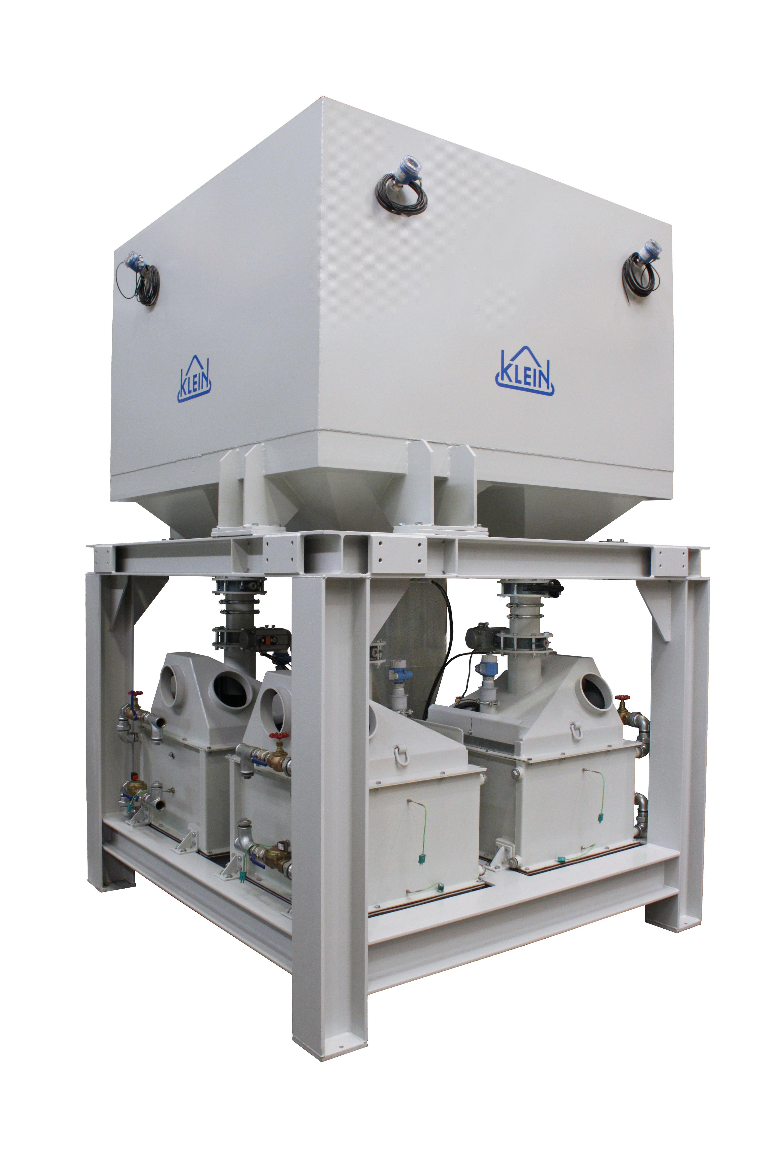 Fig. 4: Sand cooler (KLEIN Anlagenbau AG)