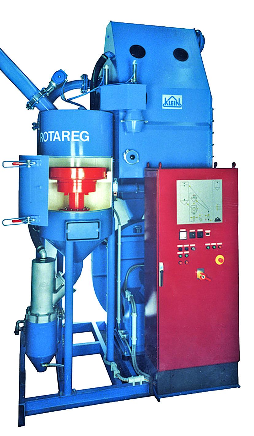 Bild 4: Sandregenerierungsanlage ROTAREG (KLEIN Anlagenbau AG)