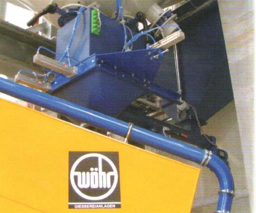 Bild 2: Sand Dosiersystem zum gleichmäßigen Eintrag des Sandes in den Mischer (AAGM Aalener Gießereimaschinen GmbH)