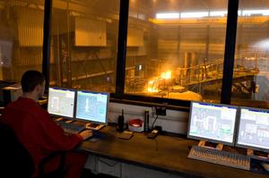 Fig 6: cupola furnace-Control System, Küttner GmbH & Co. KG