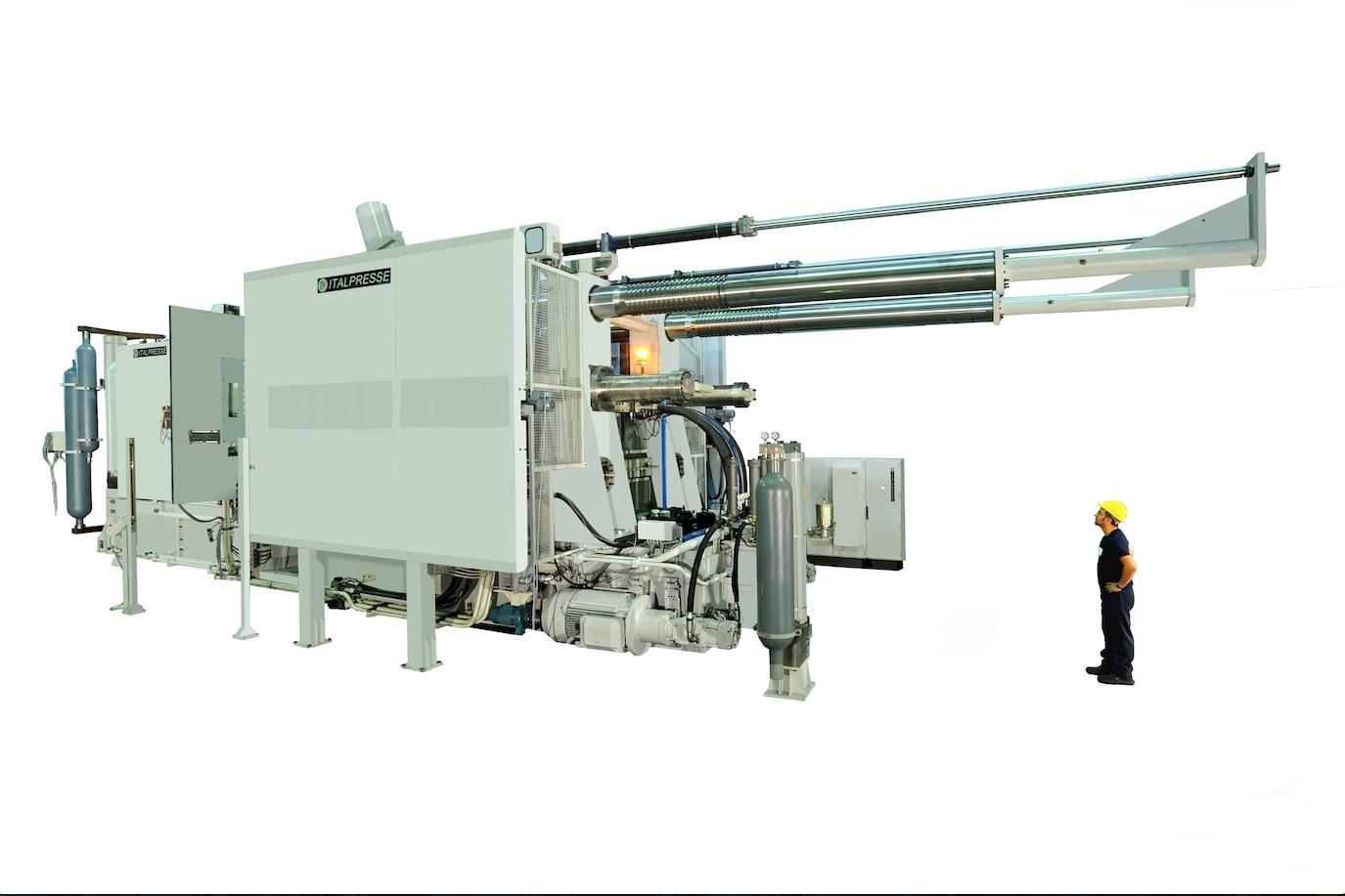 Bild 1:Druckgussmaschine Serie TF, Italpresse Industrie S.r.l.