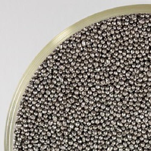 Fig. 1: Stainless steel blasting abrasive CHRONITAL® (VULKAN INOX GmbH)