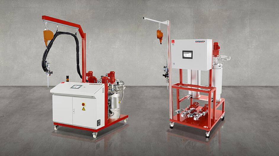 Fig.: 1: Dosing system for RTM Process (DOPAG (UK) Ltd.)